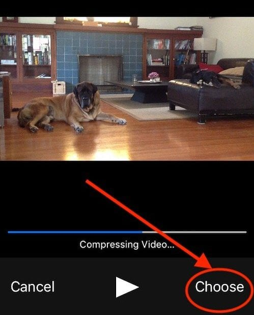 How to Send large Video or Photo via iPhone Mail