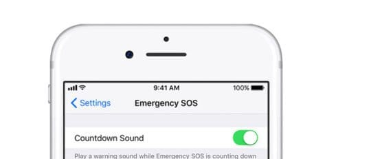 iPhone Emergency Countdown Sound