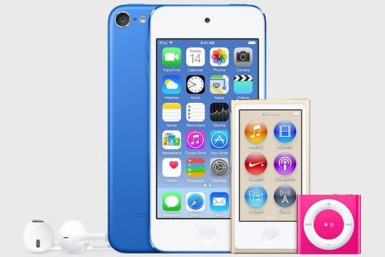 Apple discontinues iPod Shuffle and Nano