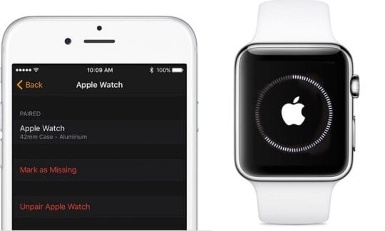 Unpairing Apple Watch, How-To