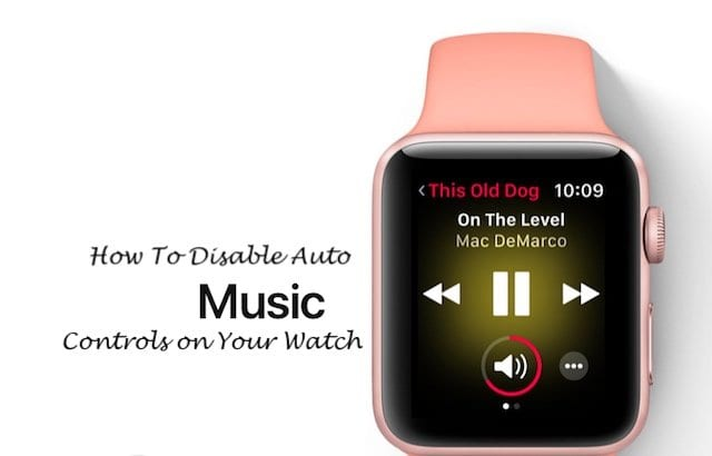 How To Disable Music Controls on Apple Watch