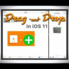 Drag & Drop in your iPad & iPhone with iOS 11, How-To