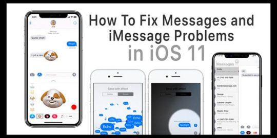 iphone imessage not working how to fix messages and imessage problems in ios 11 9642