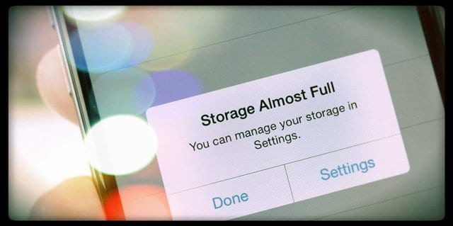 Taking a Photo but iPhone Says Storage is Full (even when it's not)