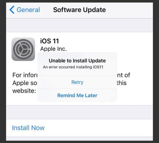 Common iOS 11 Problems, How-To Fix - AppleToolBox