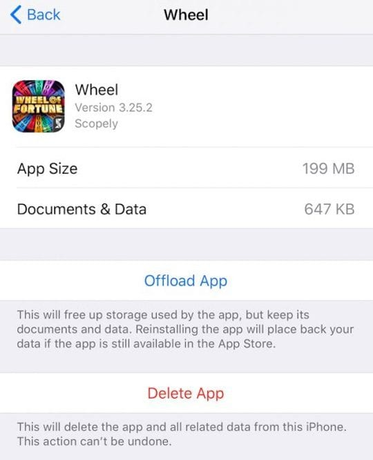 Quickly Free Up iPhone and iPad Storage Using iOS Settings