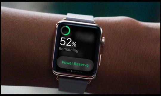 apple watch series 3 battery