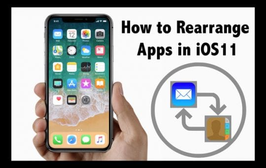 how to rearrange apps on iphone how to re arrange apps on your iphone in ios 11 appletoolbox 5274