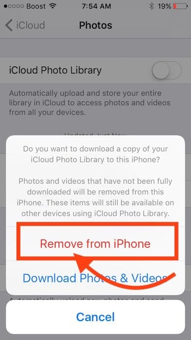 Photos Disappeared after iPhone Update, How-To Fix
