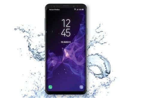 samsung galaxy waterproof or water resistant