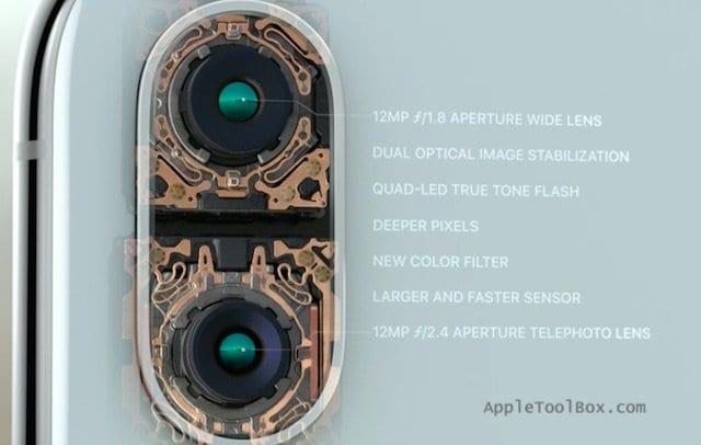 iPhone X Camera Specs