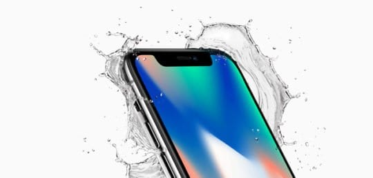 water resistant iPhone X Series