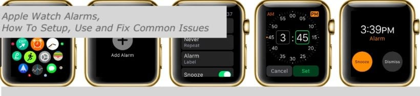 Apple Watch Alarms Not Working, How to Fix