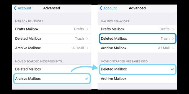 Swipe to Delete Mail Not Working on iPhone or iPad?