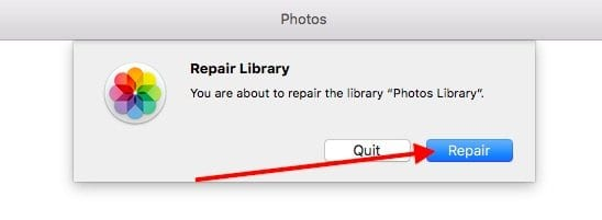 macOS High Sierra Needs To Repair Your Library, How-To Fix