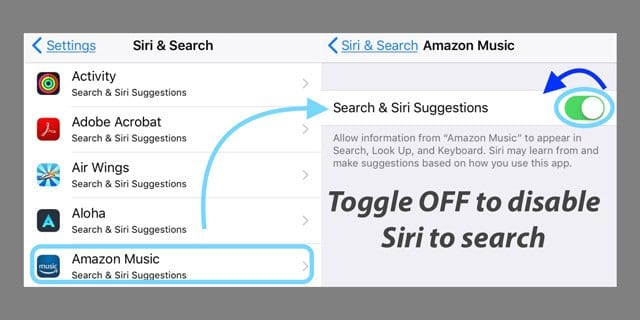 Turn Off Siri in iOS 11