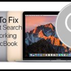 Spotlight Search Not Working on MacBook, How-To Fix