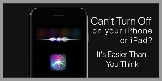 turn off siri on iOS iPad iPhone