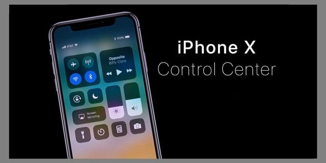Can't Open Control Center on iPhone X? Or Notifications?