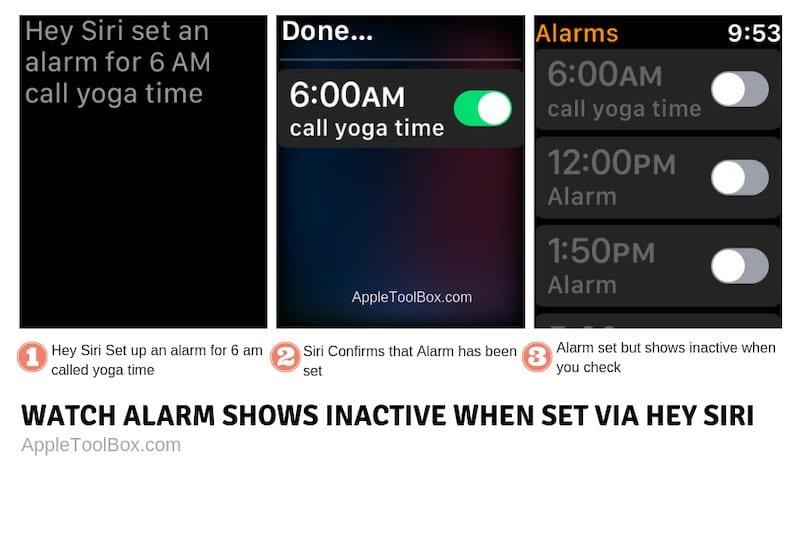 Apple watch alarm not working, fix
