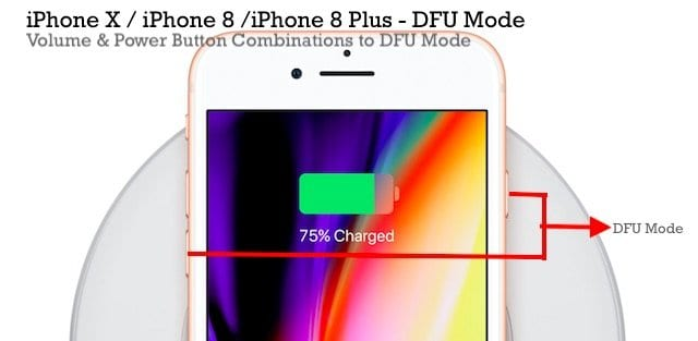 How-To Get to DFU Mode on iPhone X and iPhone 8