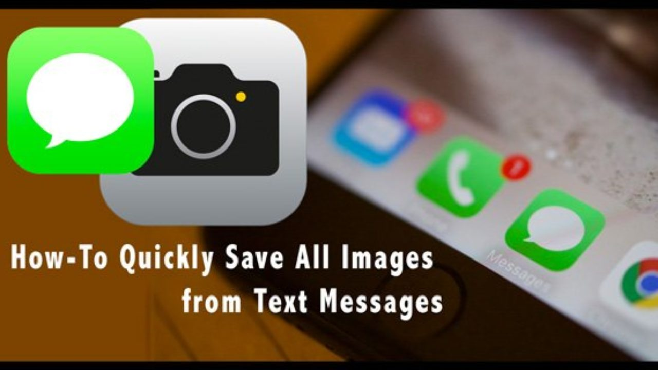 How to Save Photos and Videos from iMessage to Camera Roll