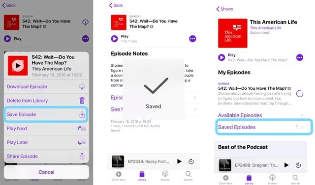 How To Customize and Use The Podcast App in iOS 11