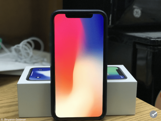 iPhone X Review , Display