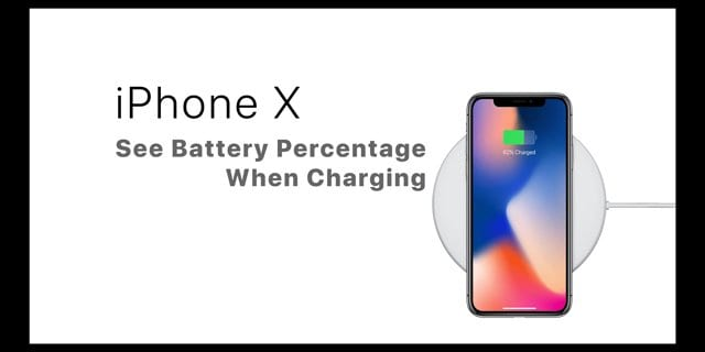 iPhone X Missing Battery Percentage? We've Found it!