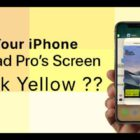 Does your iPhone 11, X Series, or 8 screen look yellow?