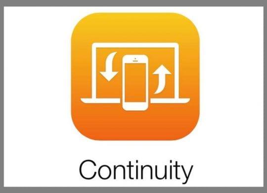 iPhone, iPad, iPod, Mac Continuity Feature