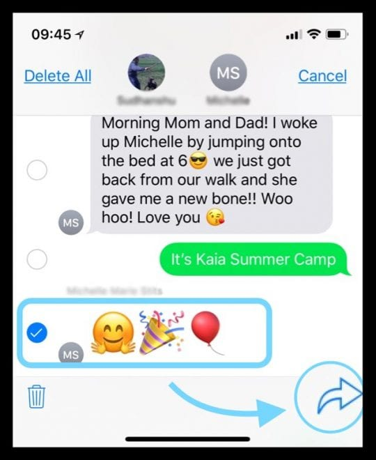 How-To Forward Text Messages and Images to Another Phone