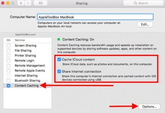 How-To Setup Content Caching on Mac