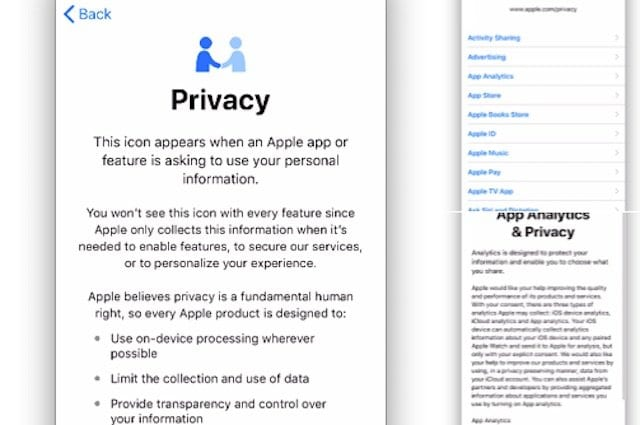 Apple Privacy Features in iOS 11.3