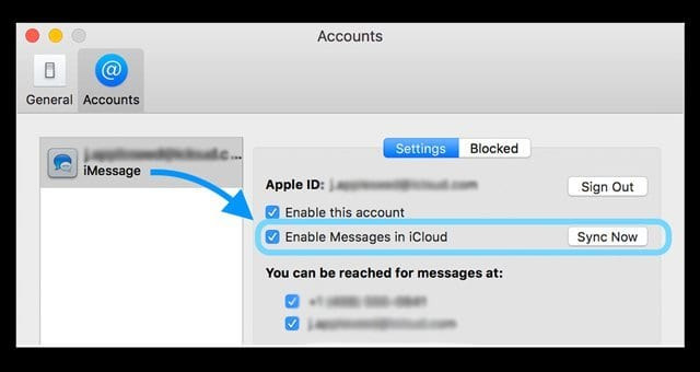 How To Use The Messages in iCloud Sync Feature