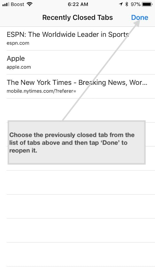 Safari Tabs on iPhone, Tips and Tricks