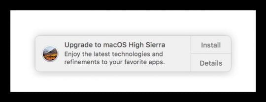 How To Disable macOS High Sierra Upgrade Notifications