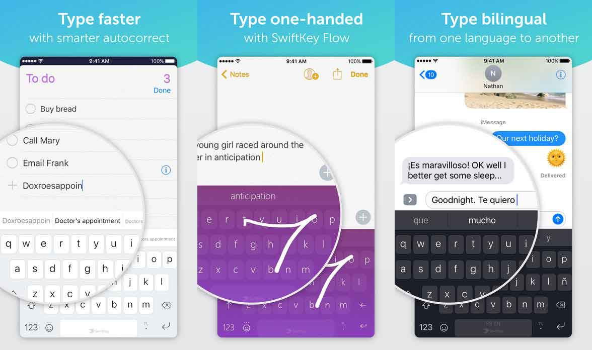 10 of the Best Third Party Keyboards for iPhone ( Swype Will be