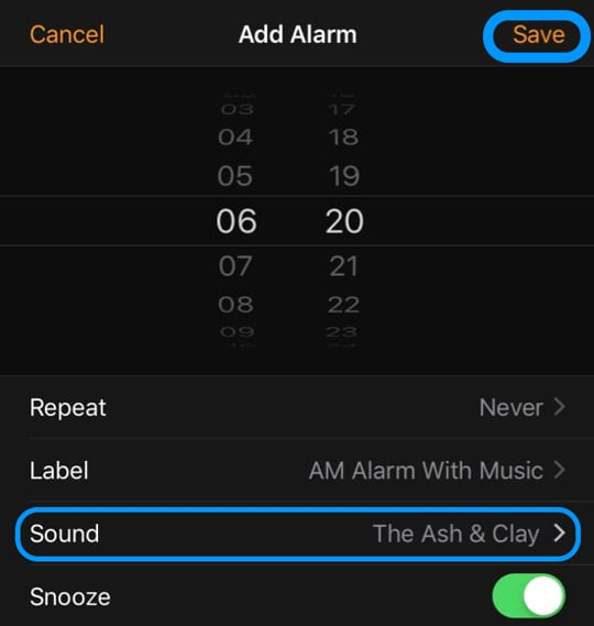 How to wake up to your favorite Music using iPhone's clock app