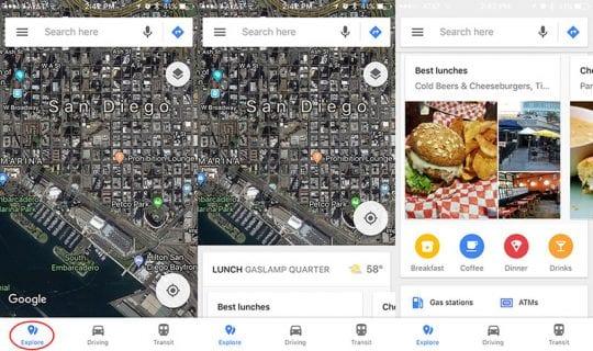 Explore Bar Google Maps, How To