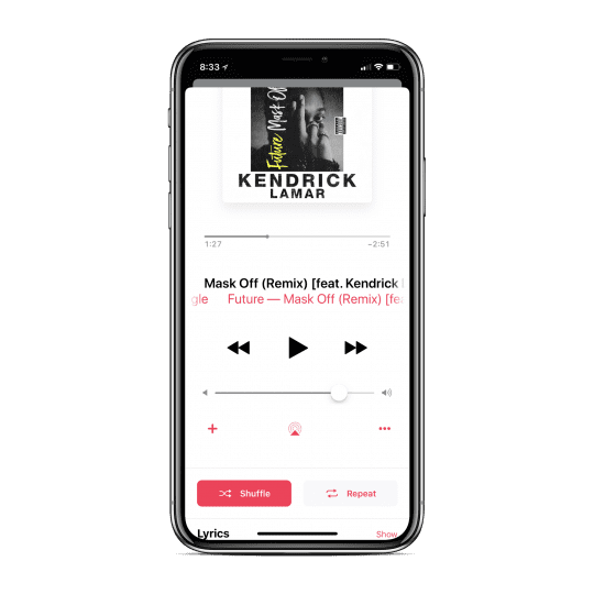 Apple Music Shuffle