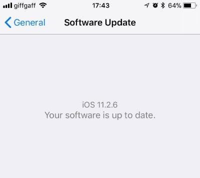 Update Your iPhone Software