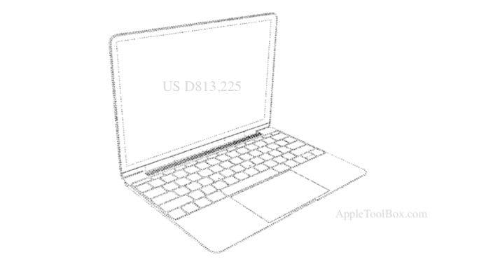 2018 MacBook Air Patents