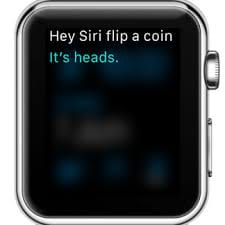Apple Watch Coin Flip