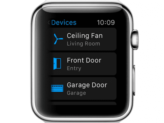 Apple Watch HomeKit
