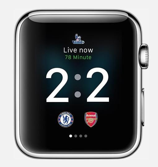 Apple Watch Sports Scores