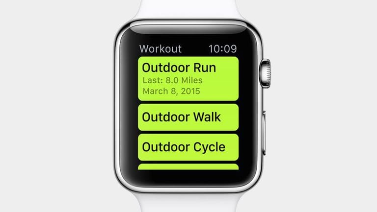 How to Reset the Calorie Goal for a Workout on the Apple