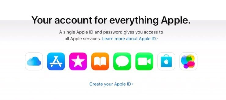 AppleId email account
