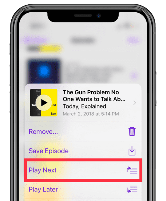 How To Create and Play Podcast Playlists in iOS 13-11 and