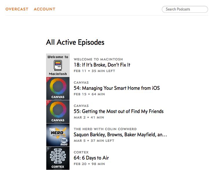 Battle of the Apps: Overcast vs Pocket Casts vs Podcasts - AppleToolBox